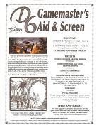 D6 Gamemaster Aid Screen eBook PDF